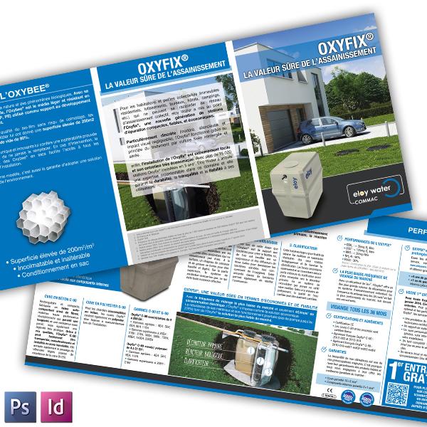 Partenaire pour la communication de la société ELOY WATER COMMAC depuis 2010